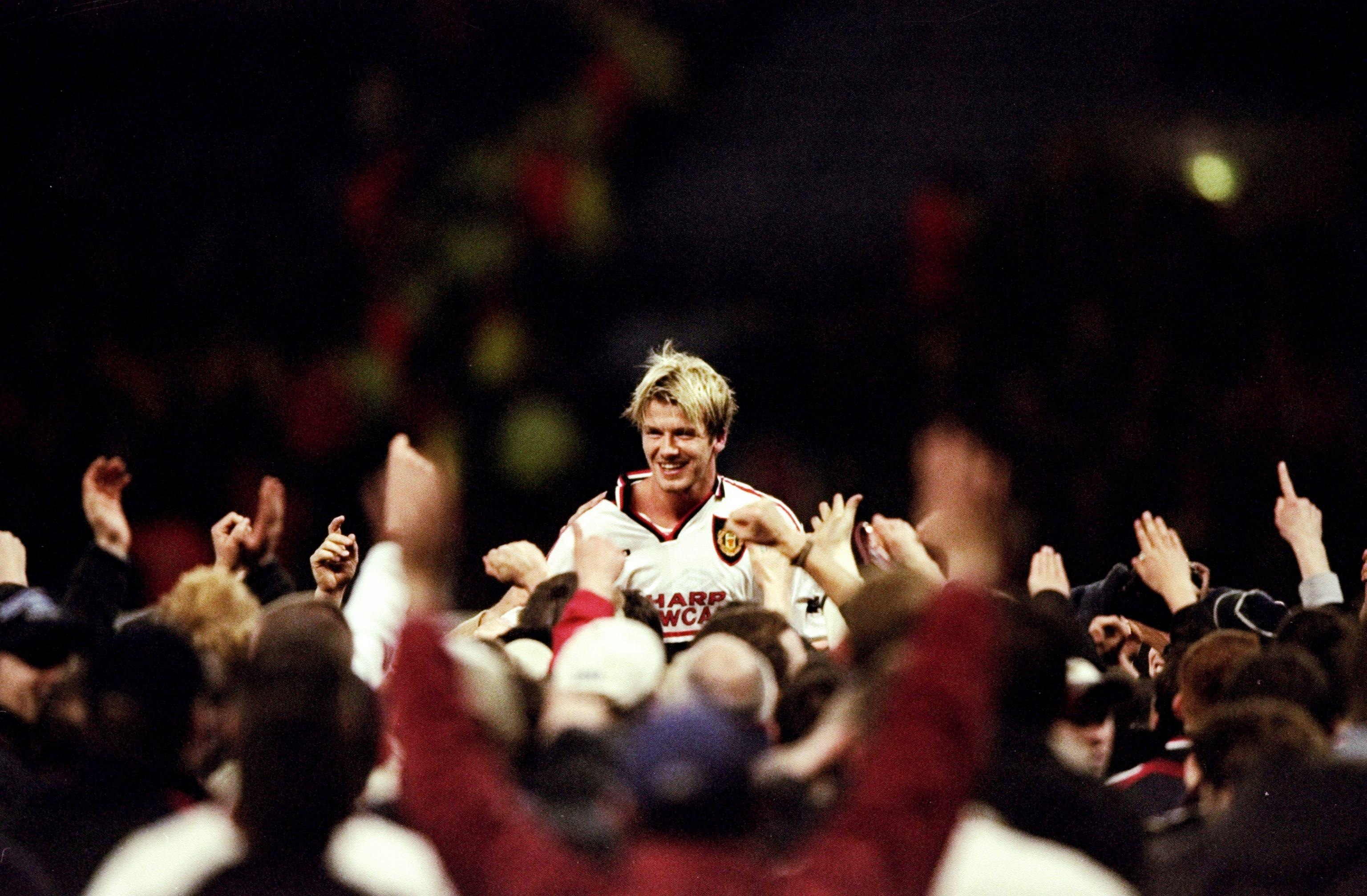 FA Cup semi-final replay David Beckham