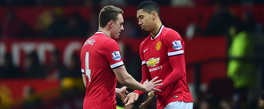 Phil Jones Chris Smalling